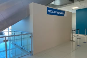 - Photos - Medical Test Area